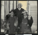 Hattie, Etta and Sam McDaniel, circa 1931/1940, Los Angeles(?)