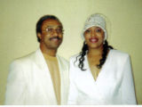 Photograph of Marcia and Dave Washington at their 25th Wedding Anniversary, June 10, 1997
