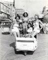 Bathing Beauties on the Boardwalk in Atlantic City, New Jersey