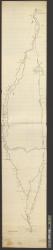 [Survey of roads from Boston to Concord, N.H. : Copied from Peter Tufts plan / by GRB].