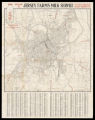 Complete map of Nashville and suburbs (appr. 1947)