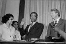 Jesse Hill and Jimmy Carter