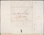Letter to] Dr Bro Phelps [manuscript