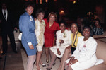 Iris Rideau posing with other women, Los Angeles, 1992