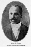 John L. Neal; Grand Master of Minnesota