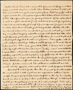 Letter from Charles Calistus Burleigh to Maria Weston Chapman, [1840]