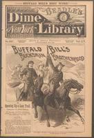 Buffalo Bill's buckskin brotherhood, or, Opening up a lost trail: a romance of a border mystery
