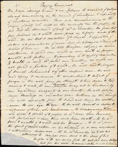 Copy of Praying covenant, [1833]